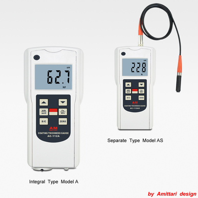 Standard Type Coating Thickness Gauge AC-112A/AS